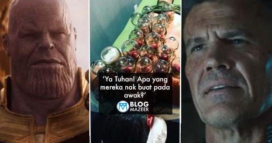 Thanos buat bekam peminat menggelabah - Gambar thanos ...