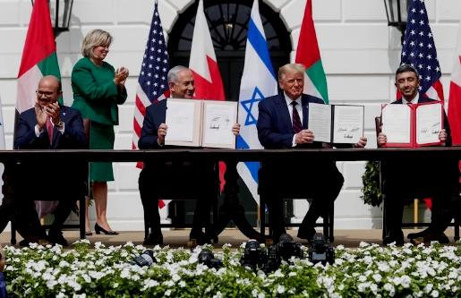 Washington : les accords 'historiques d'Abraham' ramènent la paix