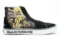 Sk8-Hi Iron Maiden Killers Vans