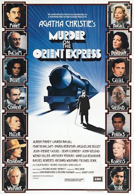 Póster Película Asesinato en el Orient Express