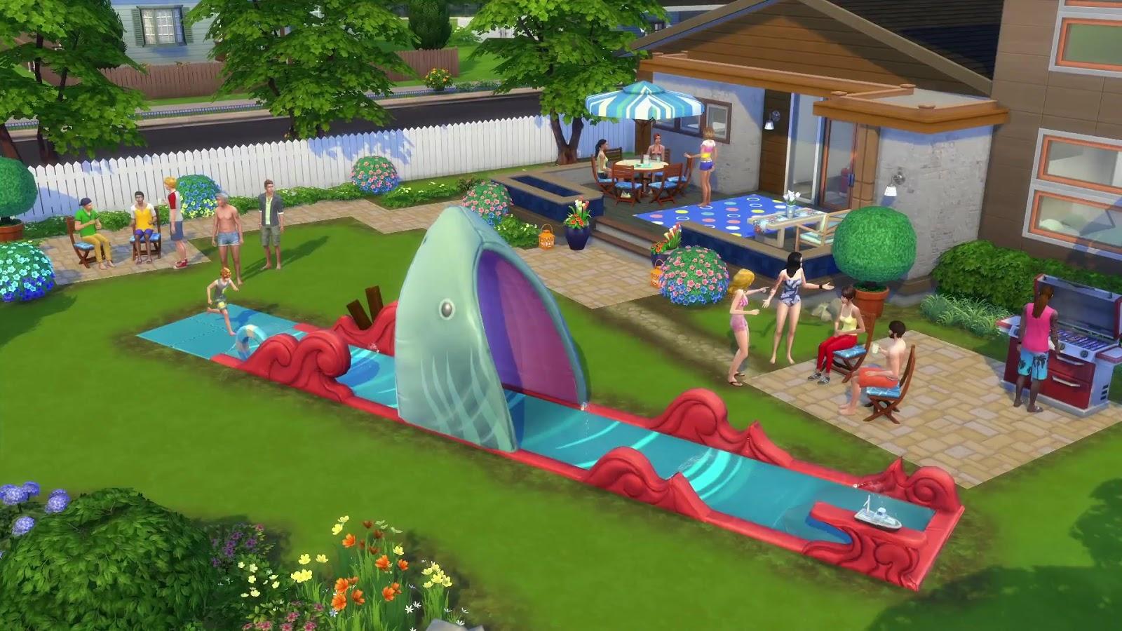 สวนหลังบ้านแสนสนุก กับ The Sims 4 Backyard Stuff