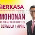 Permohonan Geran Khas Prihatin 3.0 (GKP 3.0) Mulai 1 April