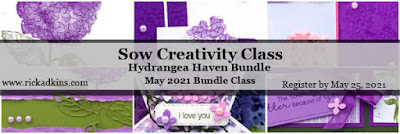 Click here to register for my new online card class featuring the Hydrangea Haven Bundle