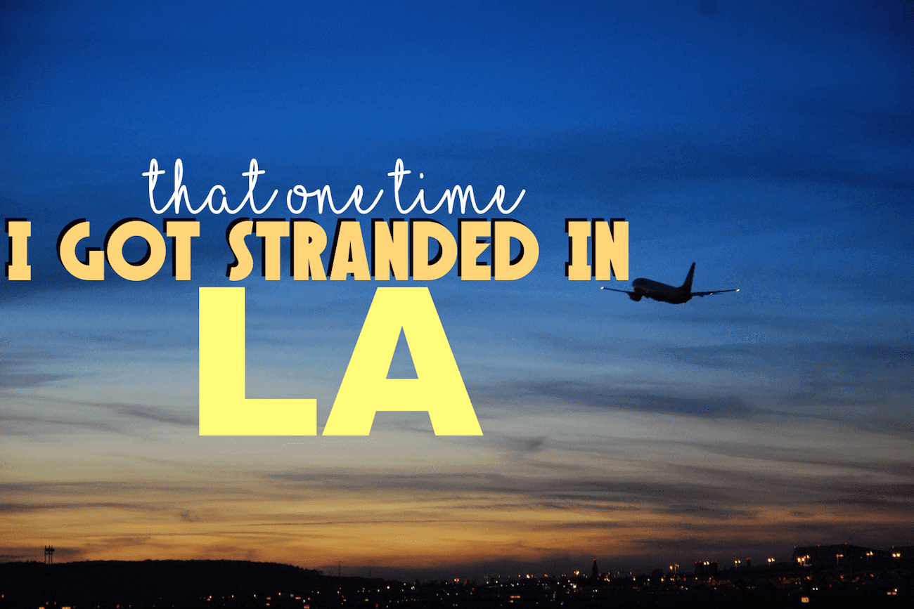stranded in los angeles header