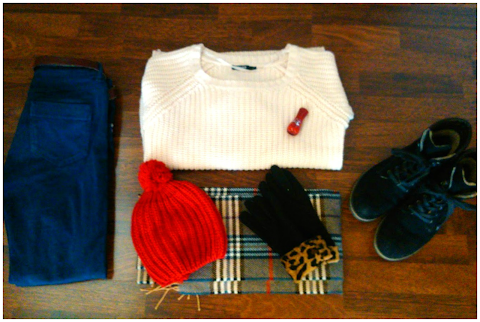 Warm & Comfy Winter Outfit