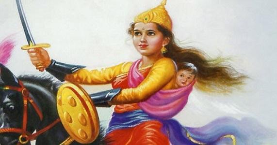 Rani Lakshmi Bai Ölümü