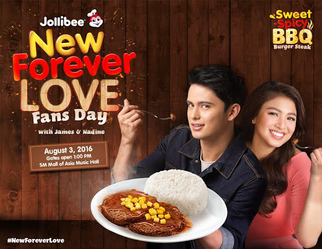 Press Release: Jollibee to celebrate New Forever Love with JaDine!