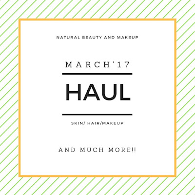 March 2017 Haul | Hong Kong – Hyderabad | Skincare, Makeup & Much More  on Natural Beauty And Makeup Blog