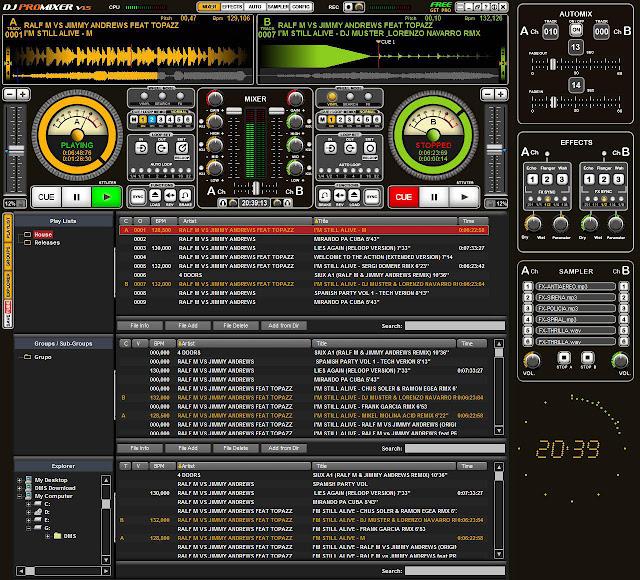 DJ ProMixer 2.0 - Δωρεάν εργαλείο για επαγγελματίες Dj's