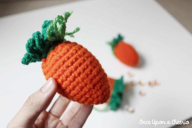 Carrot Easter Egg Cozies FREE Crochet Pattern