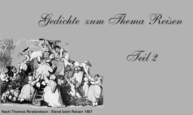 Gedichte Und Zitate Für Alle Deutsche Klassiker Zum Thema