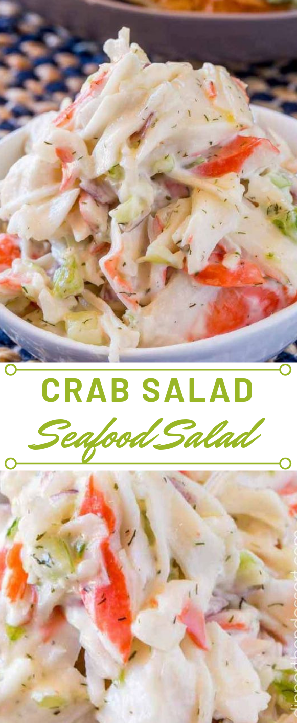 CRAB SALAD #easy #diet #paleo #lowcarb#whole30