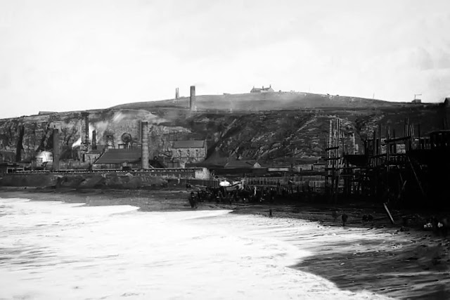 William Pit & Brocklebanks Shipyard, Whitehaven, 1888