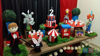 Decoração festa infantil Circo Porto Alegre