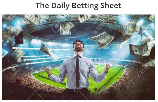 The Daily Betting Sheet, The Daily Sports Betting Sheet,