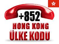 +852 Hong Kong ülke telefon kodu