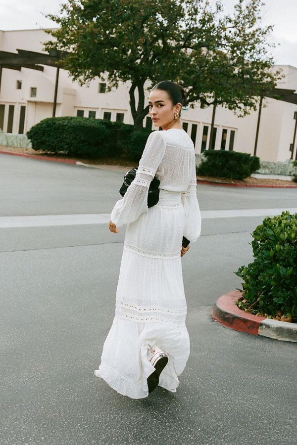 Urban Outfitters White Maxi Dress