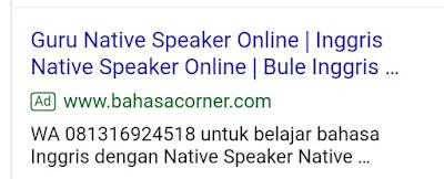 Iklan bahasacorner.com