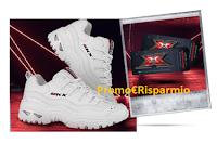 Logo Vivi #XF13 con Skechers : vinci gratis scarpe e finale X-Factos