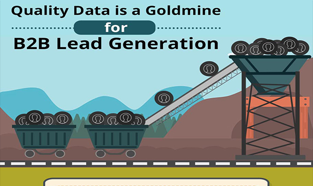 Quality data is a B2B Lead Generation Goldmine #infographic