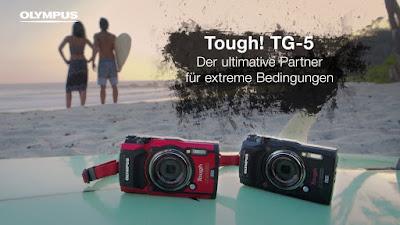 Olympus Tough TG-5, Olympus TG-5 review, Cámara submarina, revisión de la cámara, cámara de vídeo 4k
