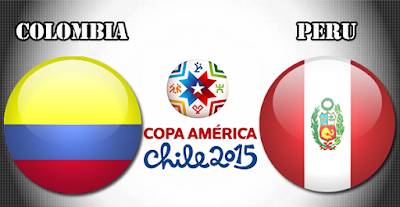 Peru vs. Colombia 0-1 - Copa America Chile 2015