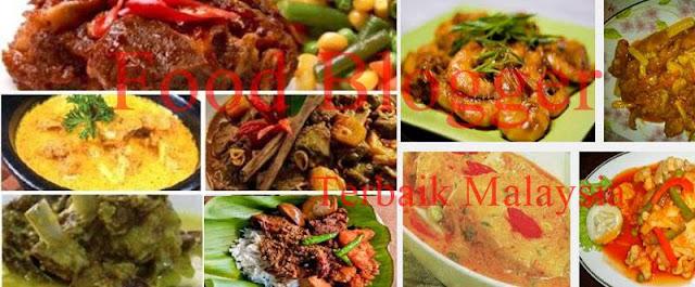 Blogger Resipi (Food Blogger) Terbaik Malaysia