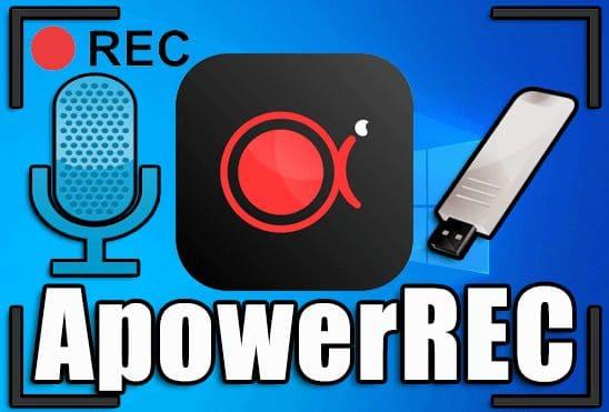 تحميل برنامج تصوير الشاشة ApowerREC 1.4.5.77 Portable نسخة محمولة مفعلة اخر اصدار