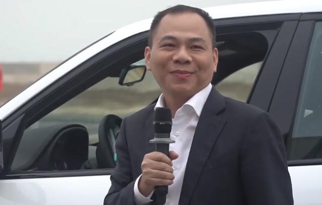 Chủ tịch Tập đoàn Crystal Bay ủng hộ tỷ phú Phạm Nhật Vượng làm cao tốc Bắc – Nam