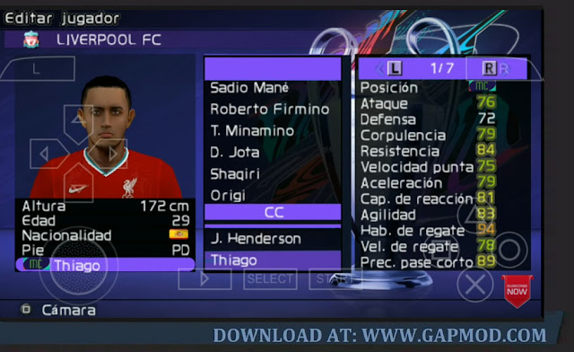 Download PES Mod FIFA 21 PPSSPP Android