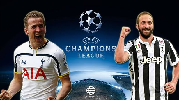 Tottenham-JUVENTUS Streaming: info Facebook Live-Stream Video YouTube, dove vederla con PC iPhone Tablet TV