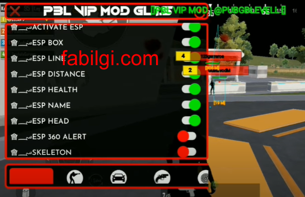 Pubg Mobile 1.5 PBL VIP Hızlı Koşma, ESP Hile Rootsuz 2021