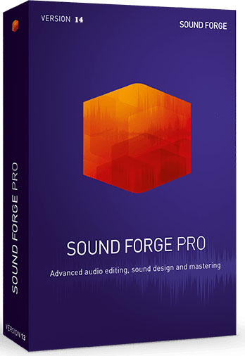 MAGIX SOUND FORGE Pro 14.0.0.30 poster box cover