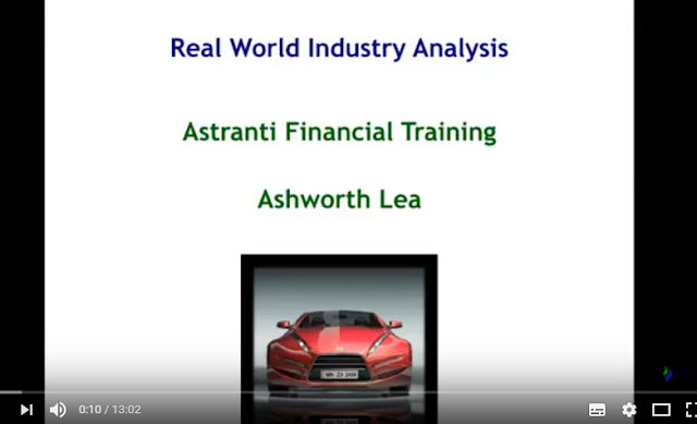OCS May 2017 Real world industry analysis online video - Ashworth Lea Case study - Astranti