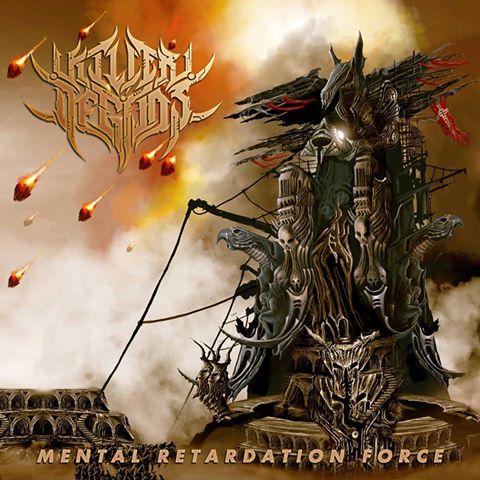 Detail from Killer of Gods New Album, Mental Retardation Force, Detail from Killer of Gods New Album Mental Retardation Force