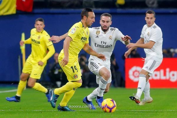 اهداف مباراه فياريال وريال مدريد في الدوري الاسباني 1-9-2019