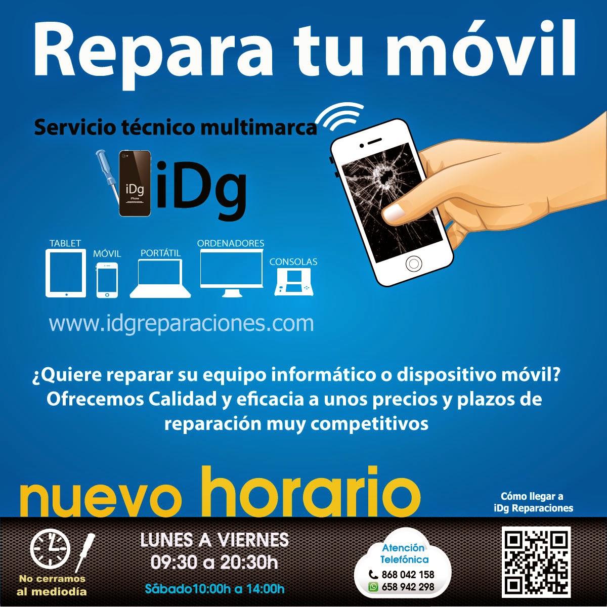 Idg reparaciones reparar iphone en murcia todos los for Servicio tecnico murcia