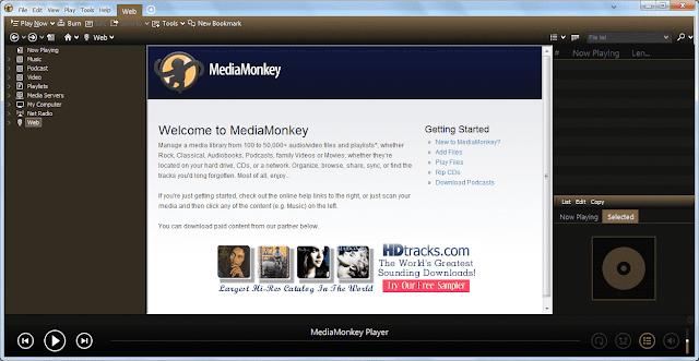 Screenshot MediaMonkey Gold 4.1.25.1895 Full Version