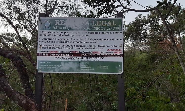 MP-BA pede prisão de grileiro após invasão de área ambiental Chapada Diamantina