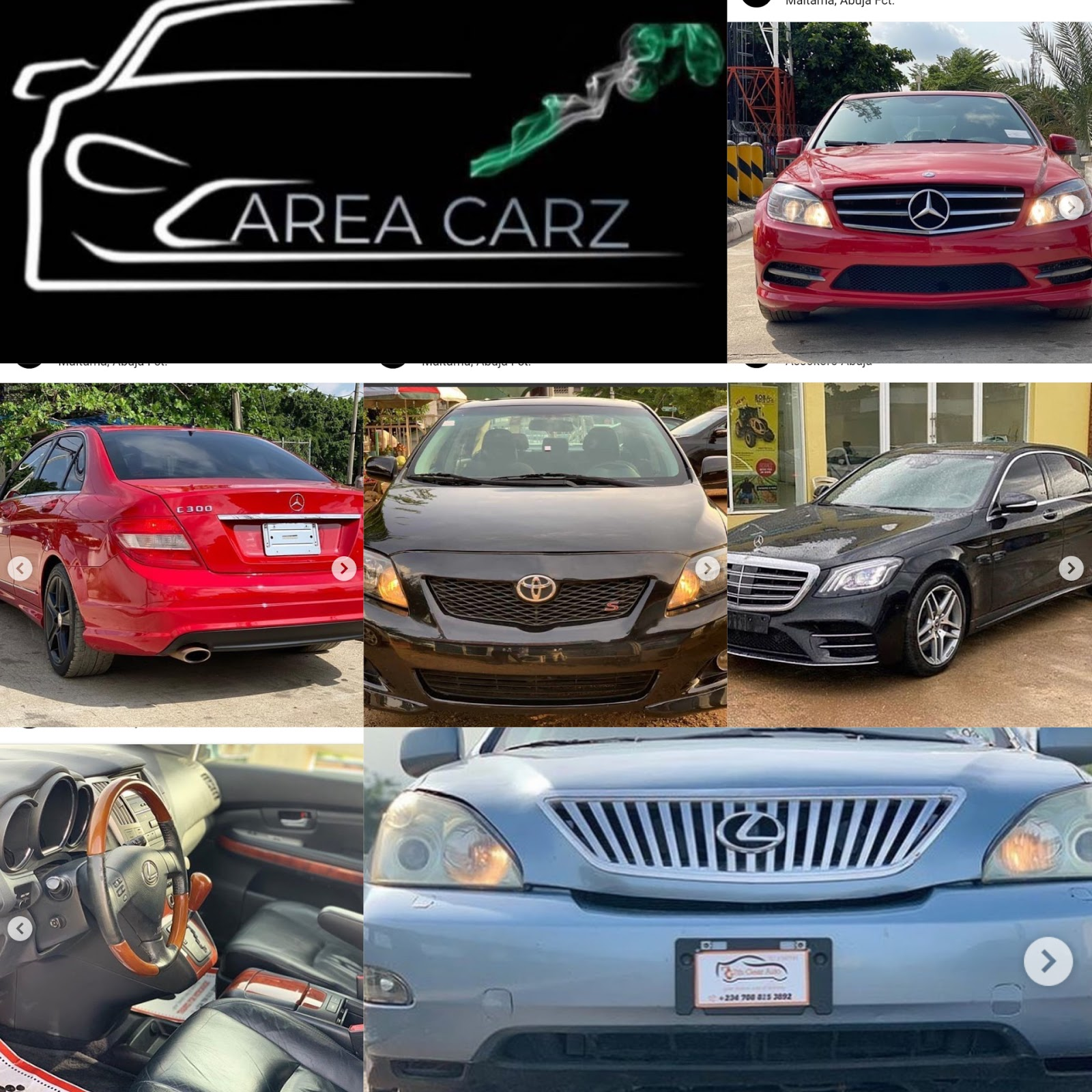 Area carz - we sell new and fairly used cars (see photos) #Arewapublisize