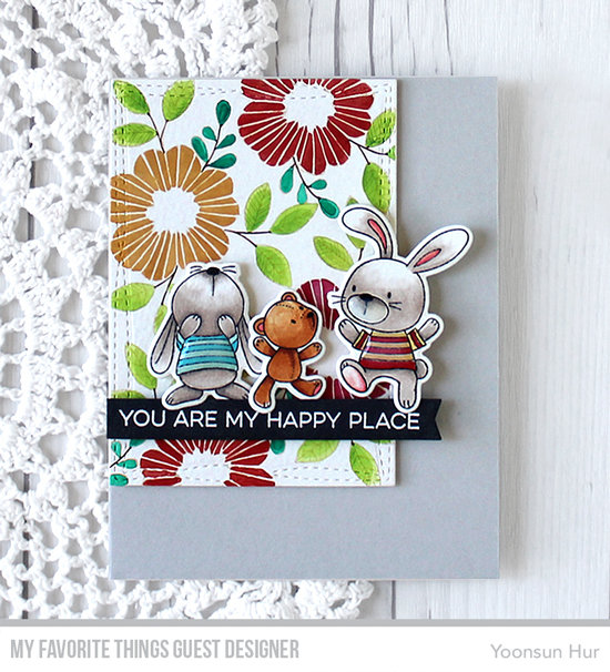 Handmade card by Yoonsun Hur featuring products from My Favorite Things #mftstamps