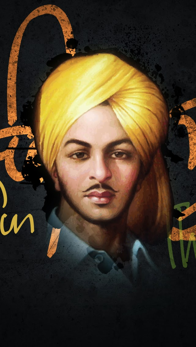 Sikh Wallpapers Hd For Iphone 5 Hd Shaheed Bhagat Singh Isikh Hd Wallpapers