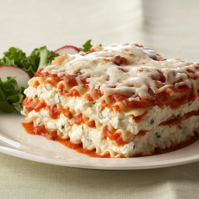 Special Creamy Lasagna