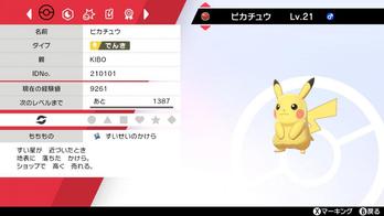 Distribuição Pikachu Presente