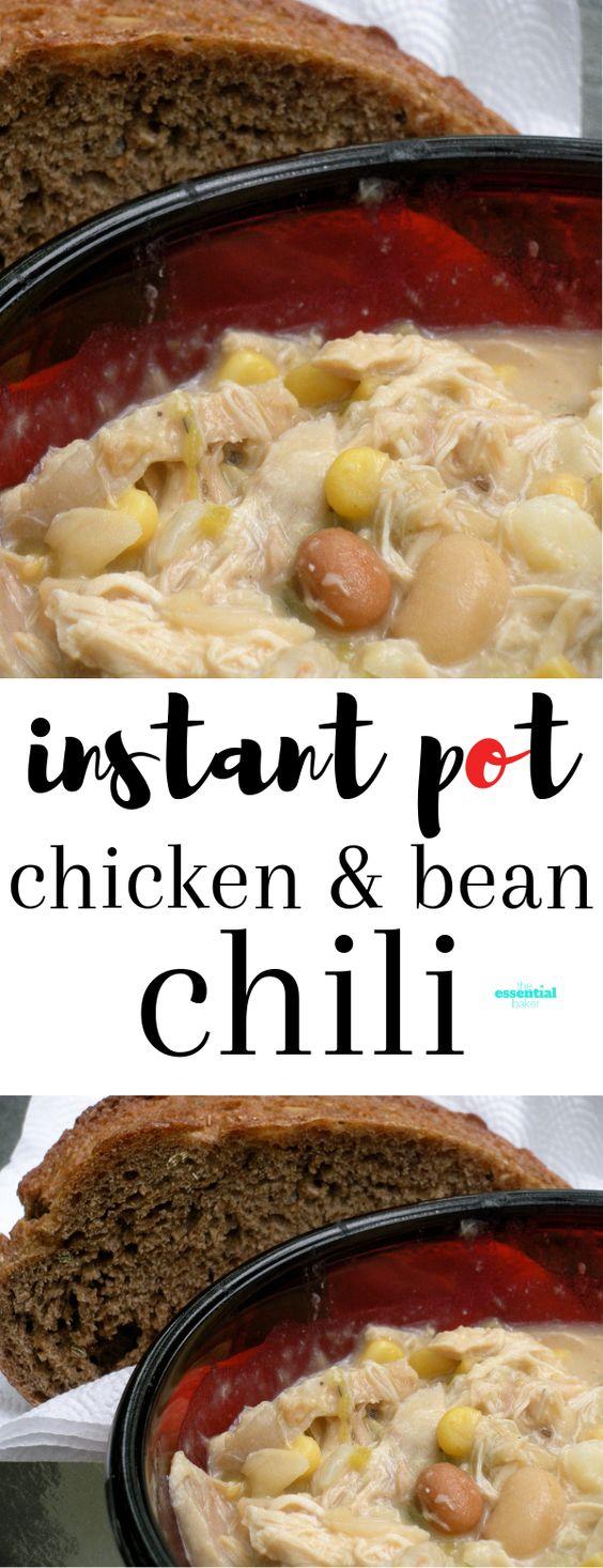 Instant Pot Chicken and White Bean Chili