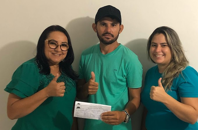 Desportista Nuna filia-se ao MDB e disputará vaga de vereador em Fernando Pedroza