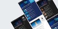 Bos HJN Amp - Responsive Magazine Blogger Template free.