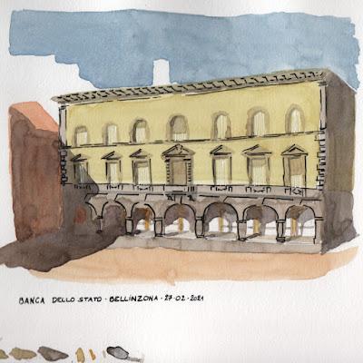 Banca dello stato, Bellinzona