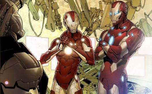 Macam Armor Rescue dalam Komik Marvel