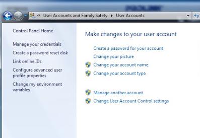 Tutorial Cara Mengganti Nama User pada Windows  7